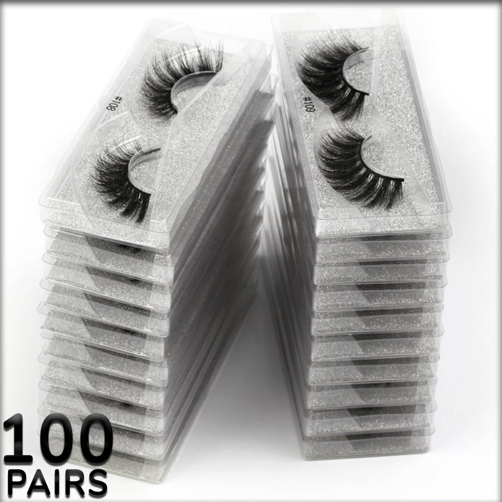 wholesale eyelashes, siberian mink lashes bulk, 100 pairs of lashes