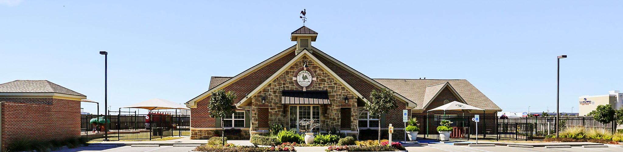 Exterior of a Primrose School of League City at Victory Lakes