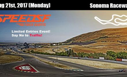 Speed SF  - 08/21 Sonoma Raceway