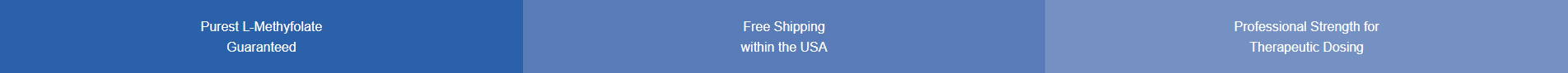 purest l-methyfolate guaranteed - free shipping within the USA - professional strength for therapeutic dosing