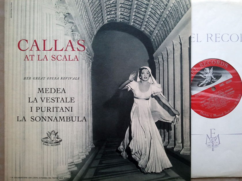 UK Angel Red Label / Callas at - La Scala / NM