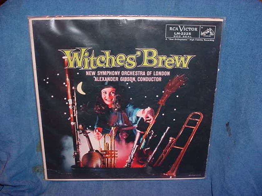 Witches' Brew / Alexander Gibson - New Symphony Orchestra of London RCA Victor LM-2225(Mono) 1958 USA