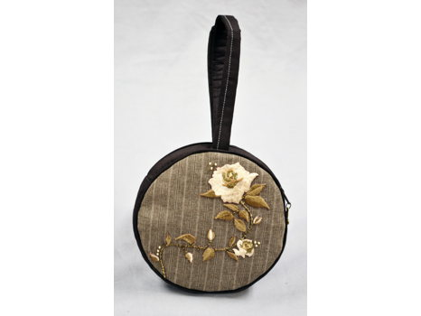 Floral Handmade Wristlet