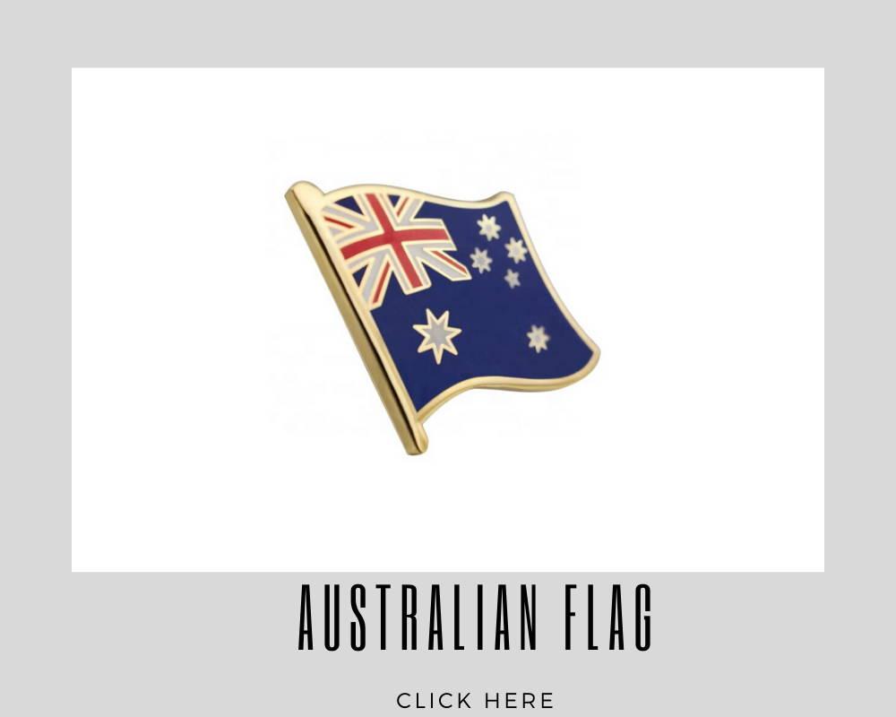 corporate australian flag custom lapel pins