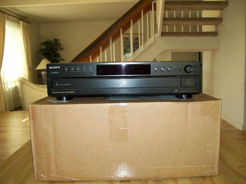 Tube Research Labs (TRL) Sony SCD 595 Modified CDP