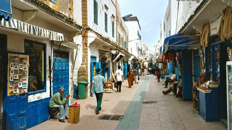 Medina in Essaouira, Morocco