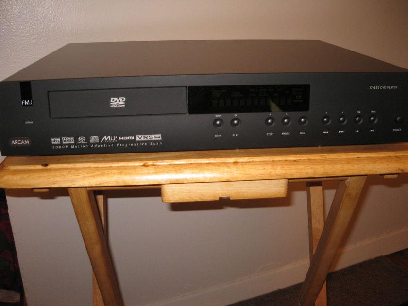 Arcam DV-139 universal DVD player