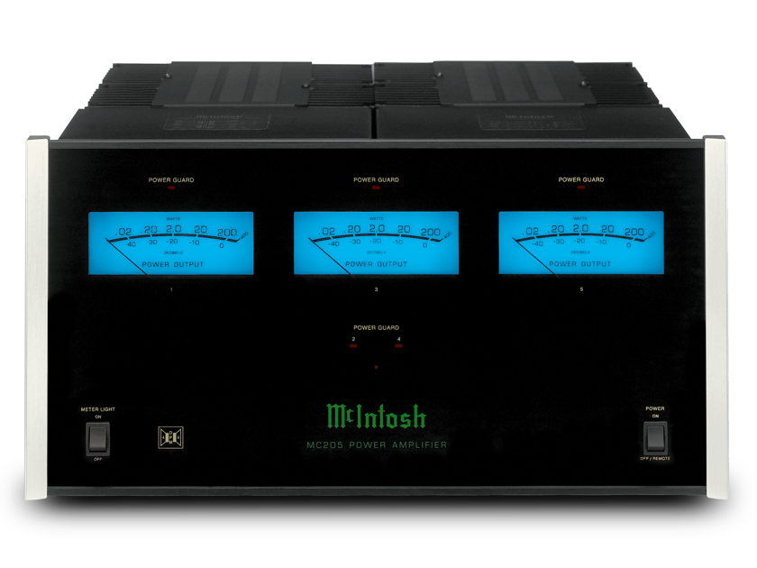 McIntosh MC-205 5 X 200 Watts Amplifier