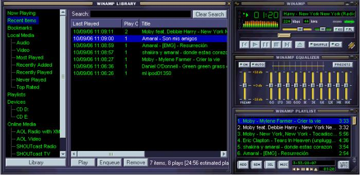 Winamp vs AIMP detailed comparison as of 2019 - Slant