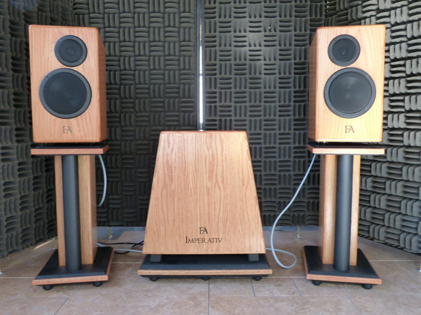 Fleud Audio Imperativ speaker system