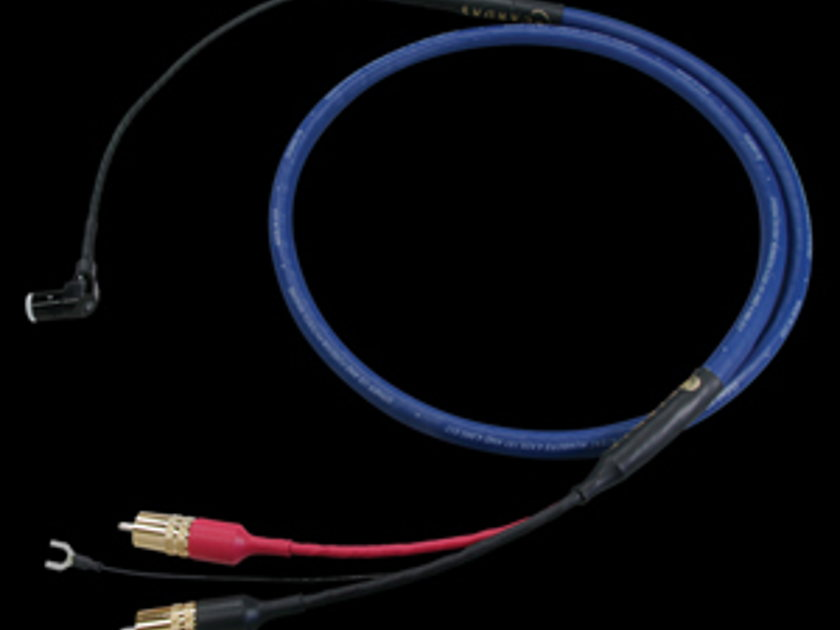 Cardas Clear Phono Cable R angle DIN to RCA