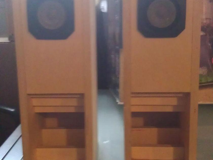 Backloaded horn speakers Fostex FE87 Baltic Birch
