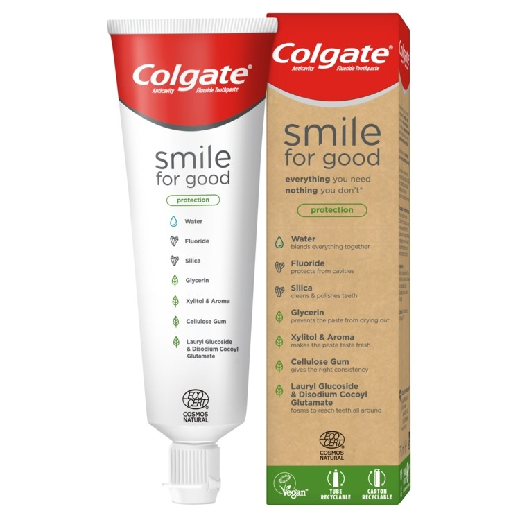 Colgate Releases New Vegan Toothpaste In Recyclable Tube