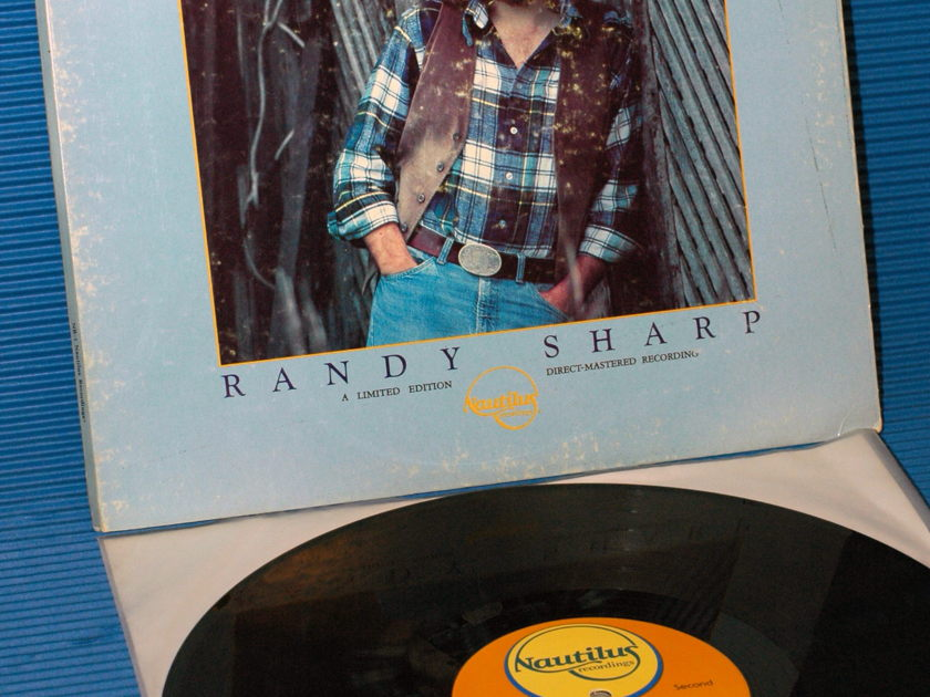 "RANDY SHARP   - ""First In Line"" -  Nautilus Direct to Disk nr-1"