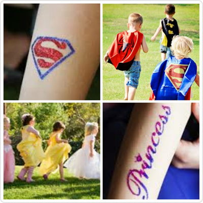Princess & Superhero Party