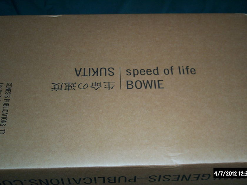 David Bowie/Sukita - Speed Of Life Limited Signed Book Sealed In The Box