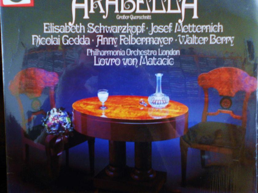 FACTORY SEALED ~ R. STRAUSS ~ LOVRO VON MATACIC ~  - ELISABETH SCHWARZKOPF ~ ARABELLA~LONDON PHILHARMONIC ORCHESTRA ODEON 1C 037 03 297 (1972)