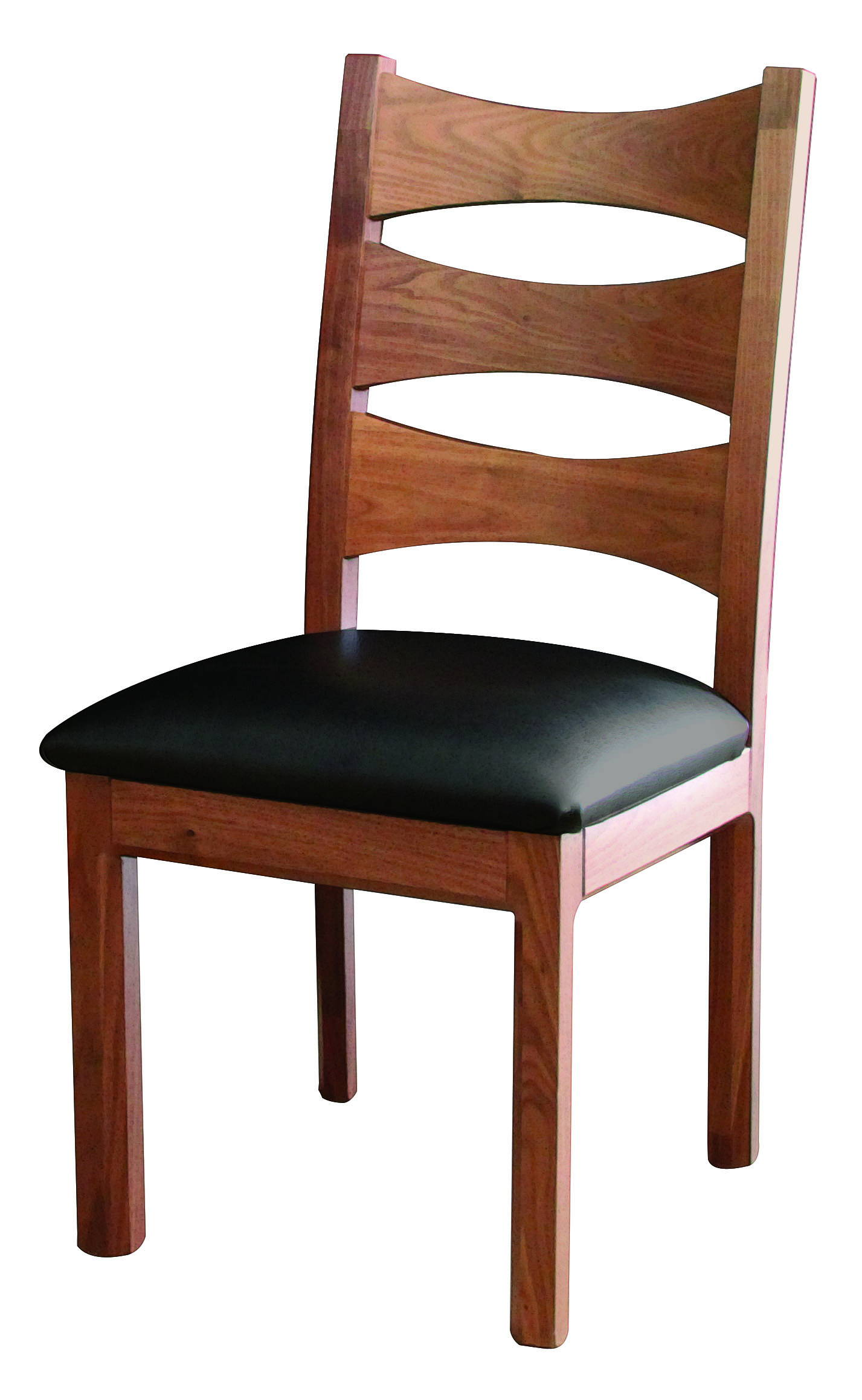 Columbo Solid Wood, Handcrafted Kitchen Chair or DIning Chair from Harvest Home Interiors Amish Furniture