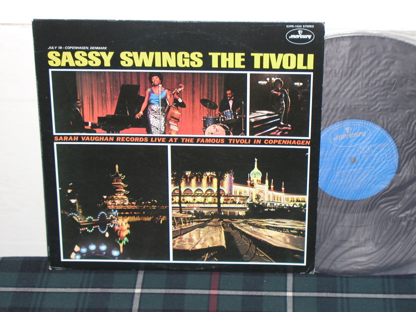 Sarah Vaughan - Sassy Swings The Tivoli HQ Jpn Import LP STEREO