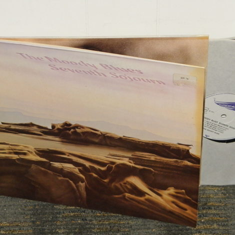 """The Moody Blues """"Seventh Sojourn"""" German Import THS -7 Gatefold cover w/booklet"""