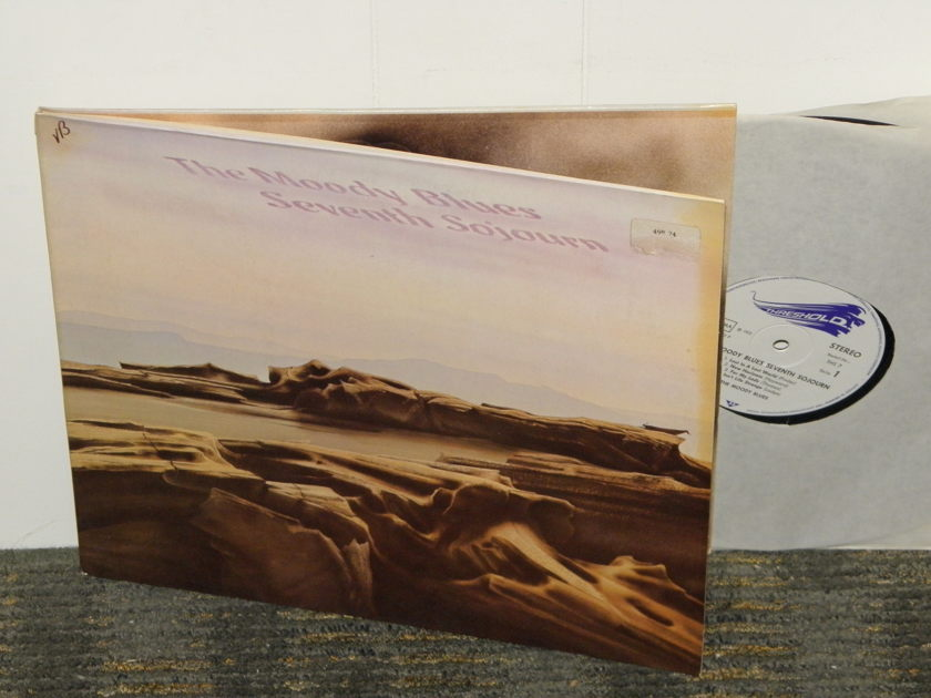 """The Moody Blues """"Seventh Sojourn"""" - German Import THS -7 Gatefold cover w/booklet  Gatefold cover"""