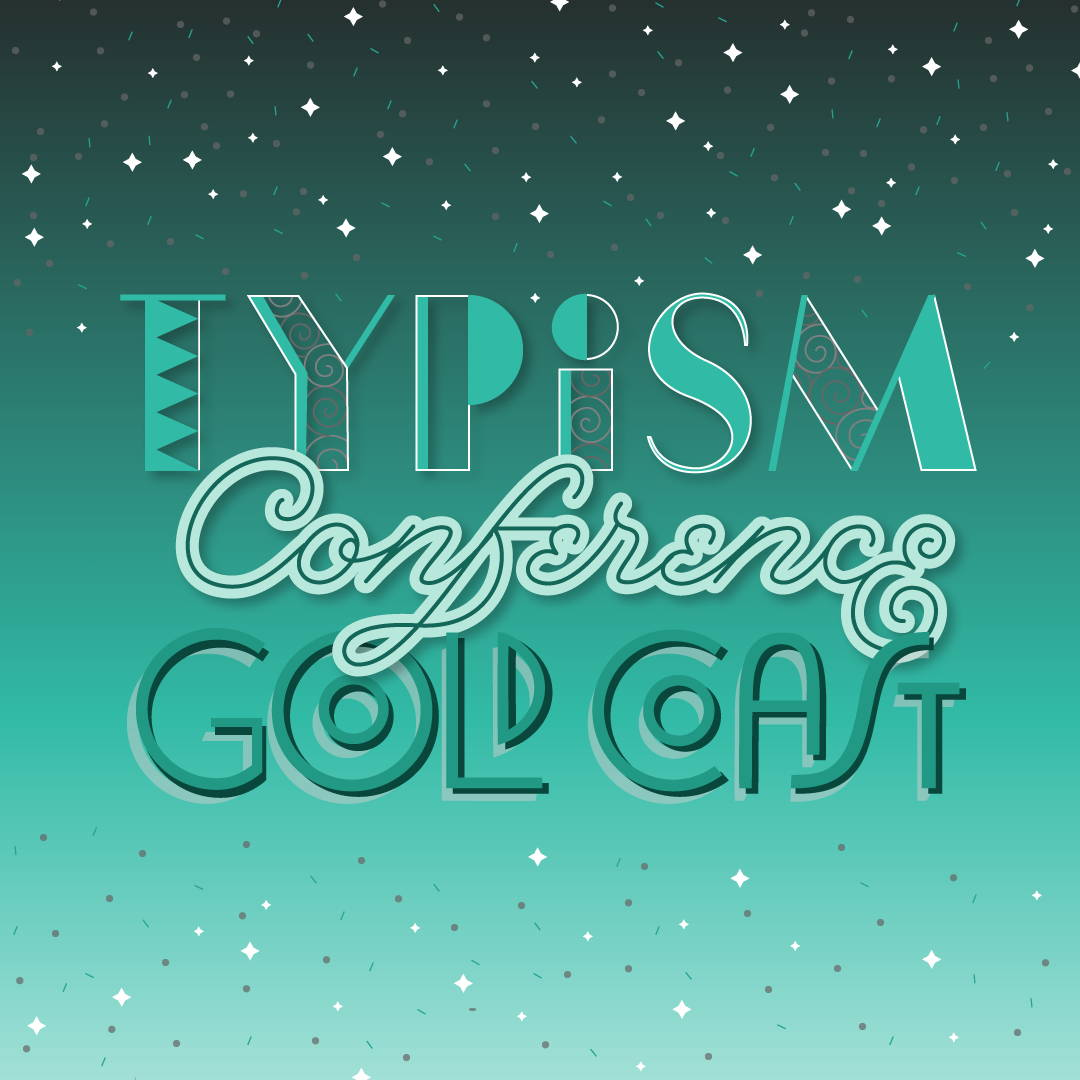 Tania Hearn lettering designer Gold Coast — typography Typism Conference