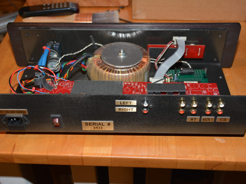 Odyssey Audio Etesian Pre-amp with HT bypass