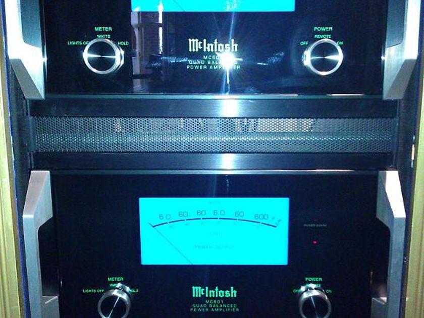 McIntosh MC601 Mono block amplifiers
