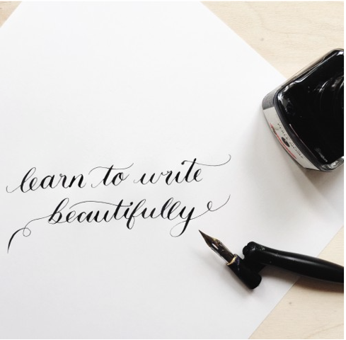 Beginners Modern Calligraphy private Class