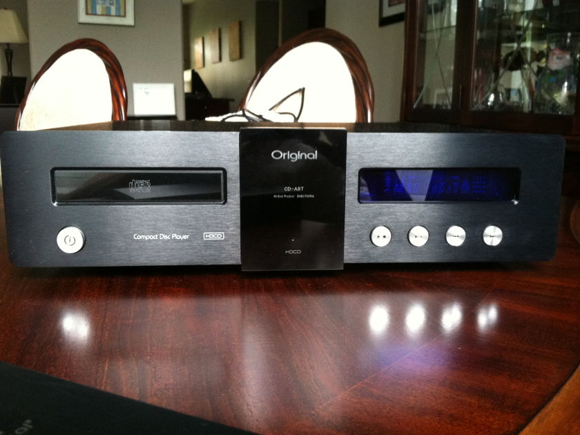 Original CD-A8T 96/24 HDCD/CD tube/solid state