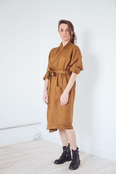 """халат - платье """"бронза"""""""