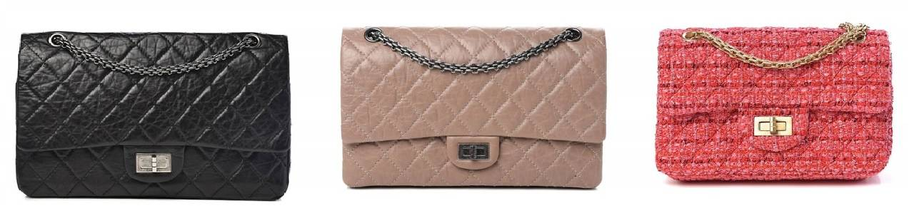 3 Chanel Reissue Flap Bags