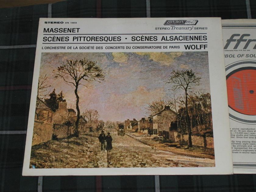 Wolff/PCO - Massenet Lndon UK/Decca  LP