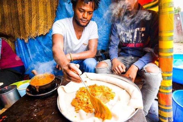 Street Market Experience in the Heart Of Addis Ababa