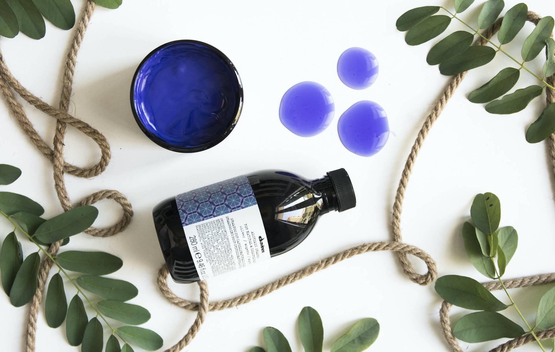 Davines Alchemic Silver purple shampoo