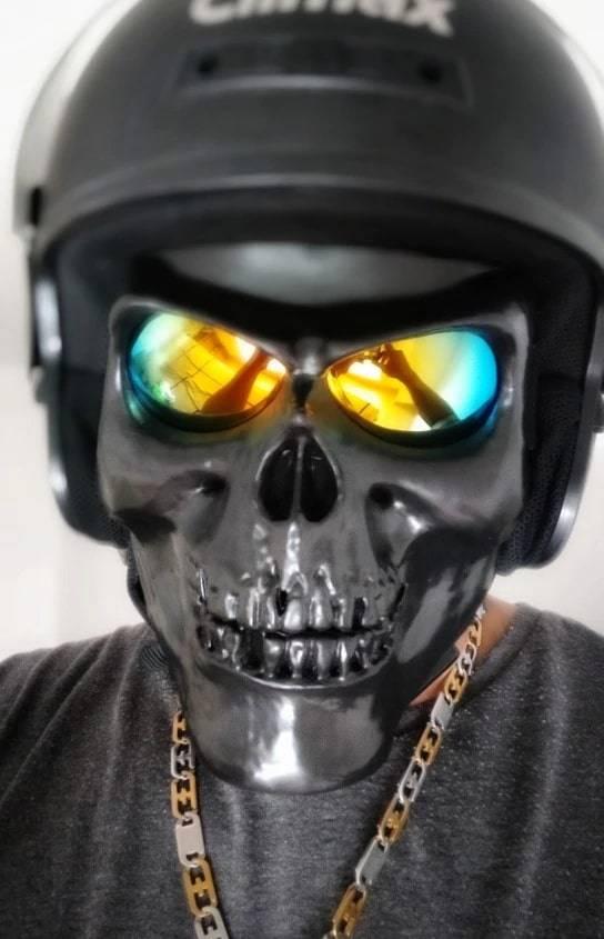 masque trottinette electrique client