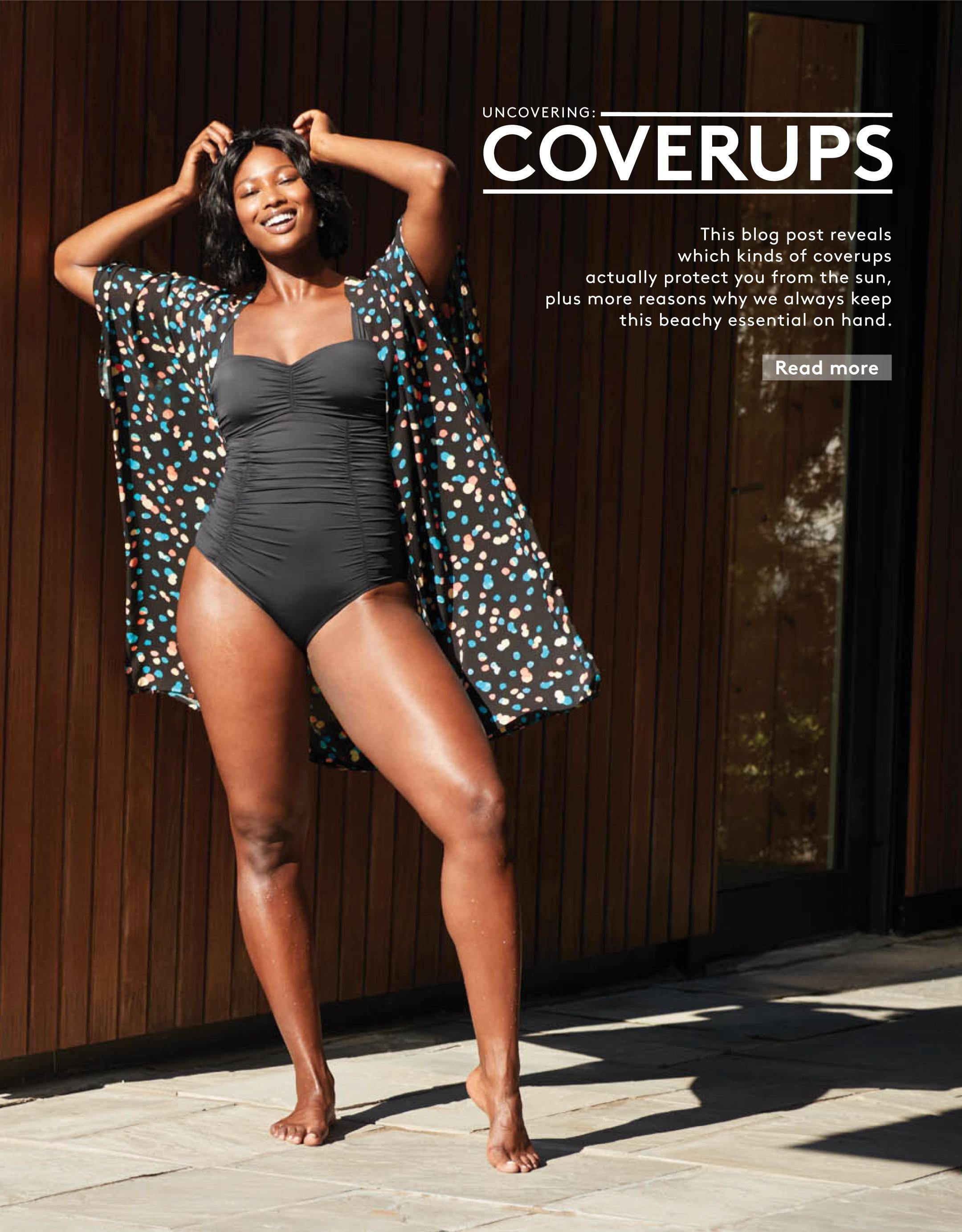 """Read our """"Here's why every woman should own a beach coverup"""" blog post."""