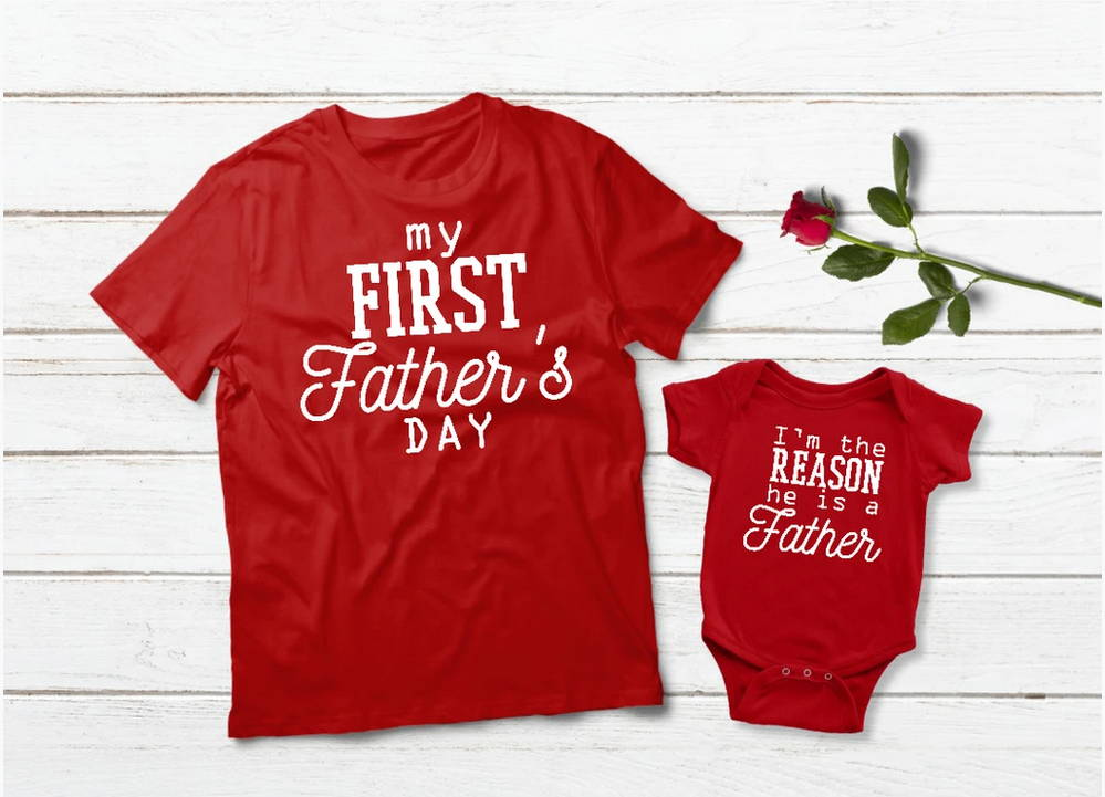 First Father's Day Shirts