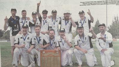 Clunes Cricket Club Logo