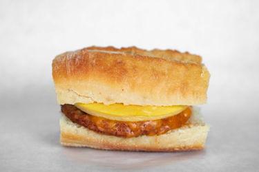 Big Star Sandwich Fresh Egg,Sausage,Cheddar
