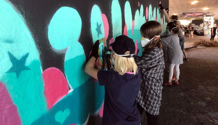 graffiti kindergeburtstag stuttgart liane