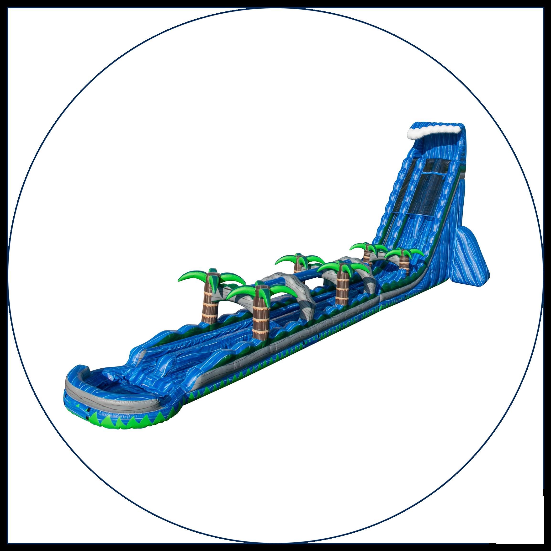23 - 43 Ft. Water Slides