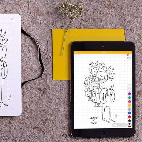 Moleskine smart notebooks