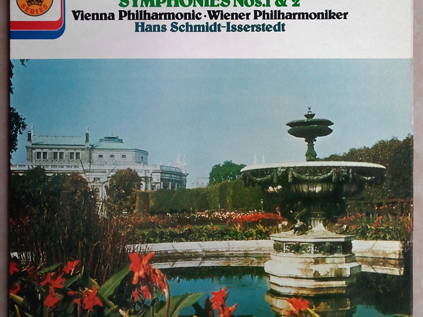 UK Decca/Schmidt-Isserstedt/Beethoven - Symphony Nos. 1 & 2 / NM