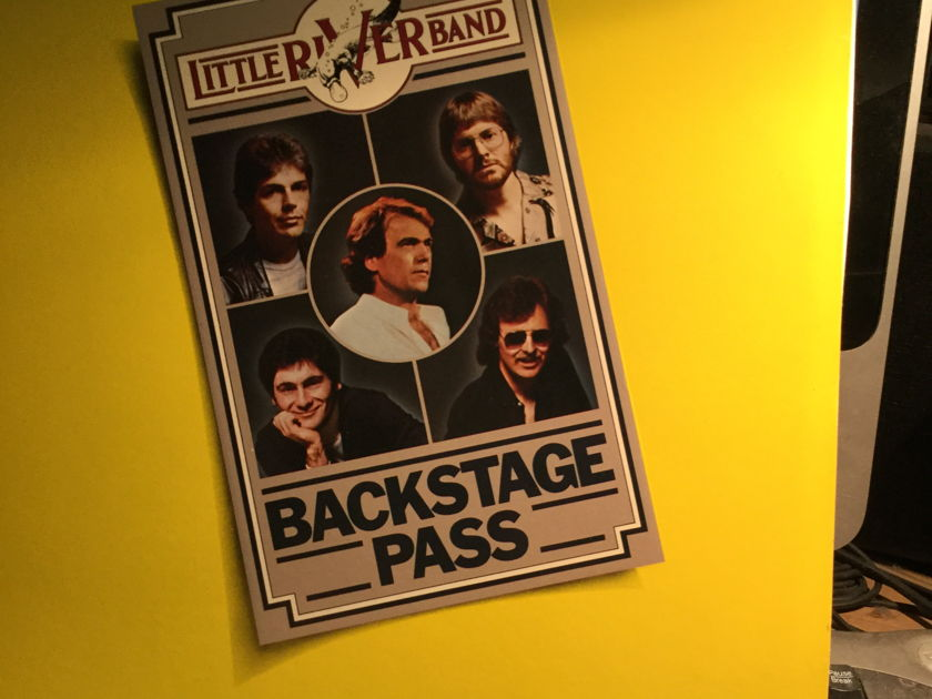 Little River Band - Backstage Pass 2 LP LIVE SET