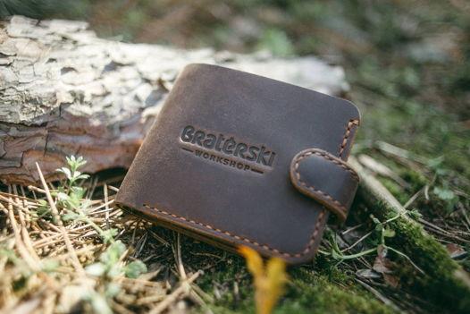 Кожаный бумажник Classix Chocolate