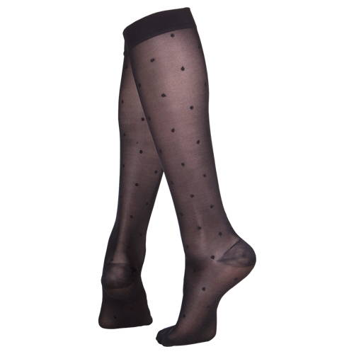 Ladies' Knee High Closed Toe Sheer Stockings