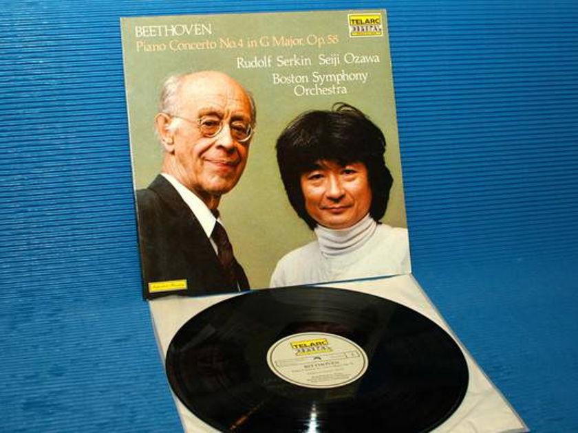 "BEETHOVEN?Serkin/Ozawa -  - ""Piano Concerto No. 4"" -  Telarc German import 1982"