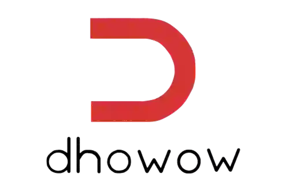 Dhowow web app development Logo