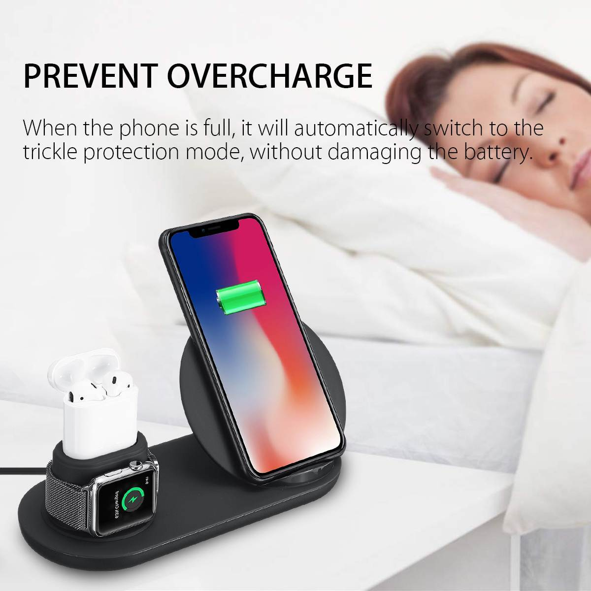 Apple airpod watch and phone station, Charging station for apple